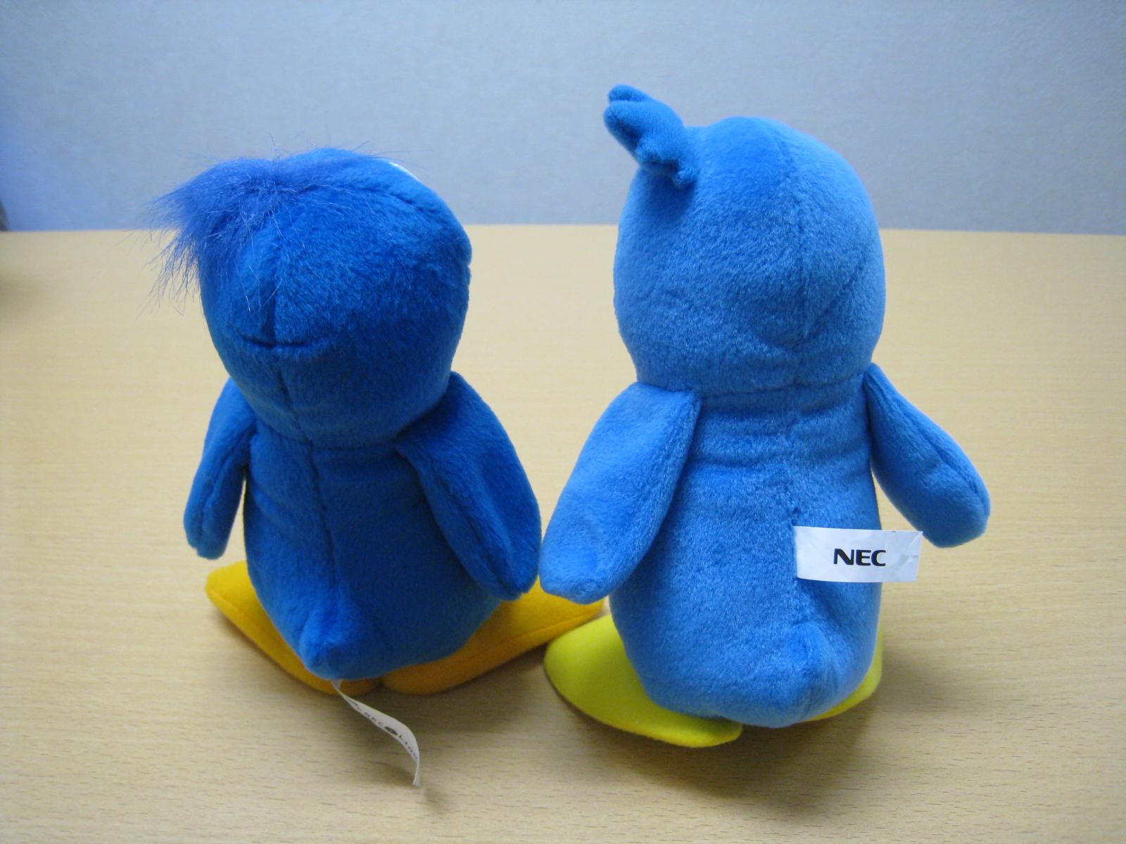 NECの青いペンギン
