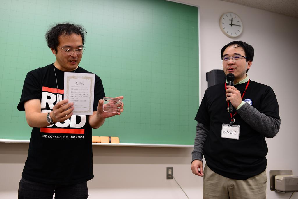 第1回OSCアワード(日本NetBSDユーザーグループ)