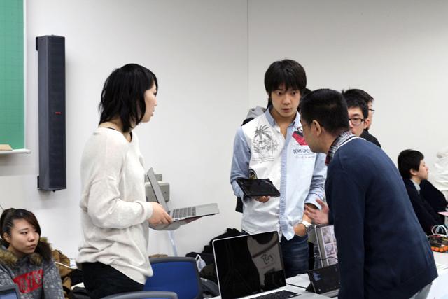 日本電子専門学校ケータイ・アプリケーション科