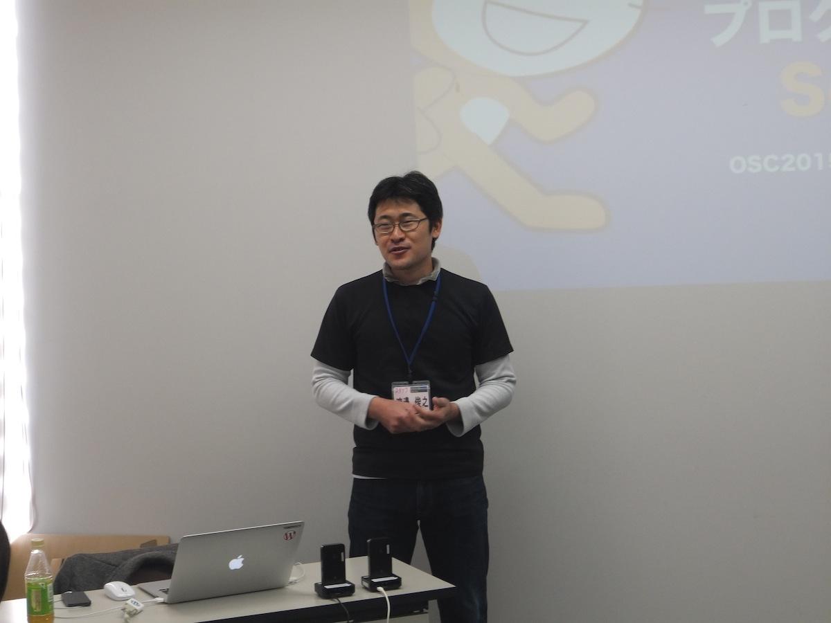 渡邊俊之さん(OSC2015 大分実行委員会)