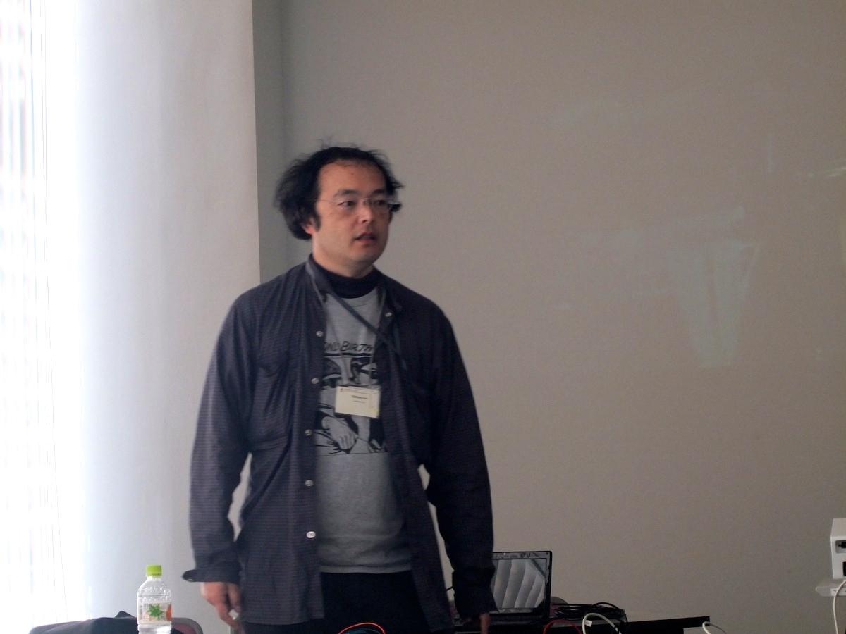 蛯原純さん(The NetBSD Project/developer)