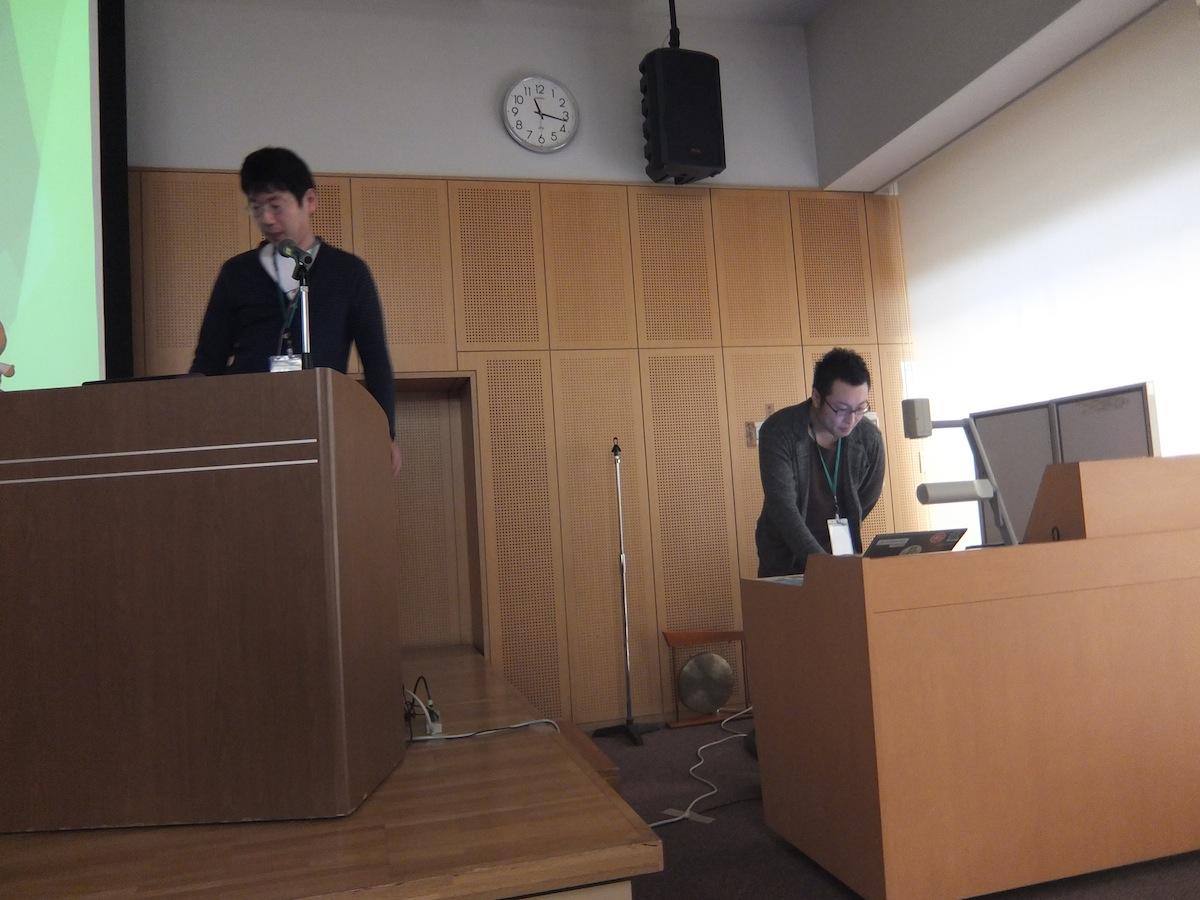 牟田口満さん、後藤雅樹さん(特定非営利活動法人コモンズネット)