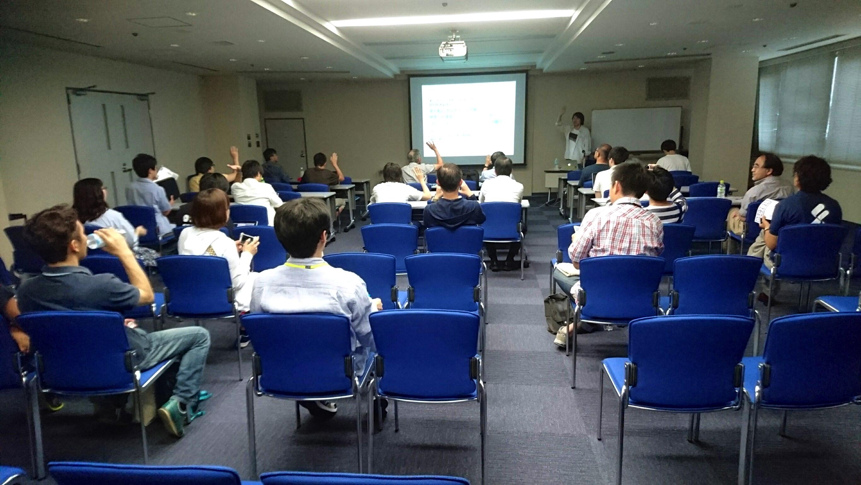 DojoCon Japanのセミナーの様子
